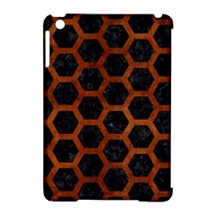 HXG2 BK MARBLE BURL Apple iPad Mini Hardshell Case (Compatible with Smart Cover) by trendistuff