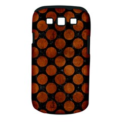 Circles2 Black Marble & Brown Burl Wood Samsung Galaxy S Iii Classic Hardshell Case (pc+silicone) by trendistuff