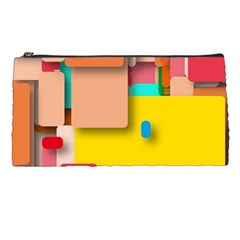 Rounded Rectangles Pencil Cases by hennigdesign