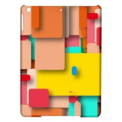 Rounded Rectangles Ipad Air Hardshell Cases by hennigdesign