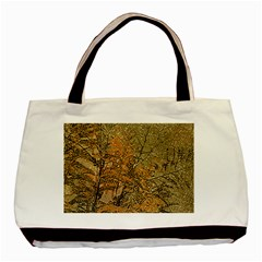 Floral Grunge Basic Tote Bag (two Sides) by dflcprints