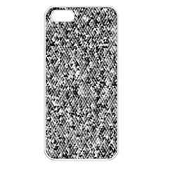 Modern Design 2 Apple Iphone 5 Seamless Case (white) by timelessartoncanvas