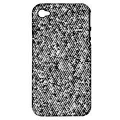 Modern Design 2 Apple Iphone 4/4s Hardshell Case (pc+silicone) by timelessartoncanvas