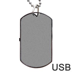 Modern Design 3 Dog Tag Usb Flash (one Side) by timelessartoncanvas