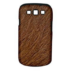 Orange Fur Samsung Galaxy S Iii Classic Hardshell Case (pc+silicone) by timelessartoncanvas