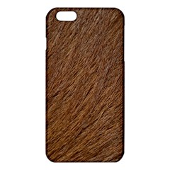 Orange Fur Iphone 6 Plus/6s Plus Tpu Case by timelessartoncanvas