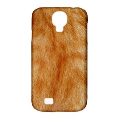 Orange Fur 2 Samsung Galaxy S4 Classic Hardshell Case (pc+silicone) by timelessartoncanvas