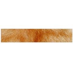 Orange Fur 2 Flano Scarf (large) by timelessartoncanvas