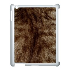 Silber Tiger Fur Apple Ipad 3/4 Case (white) by timelessartoncanvas