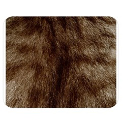 Silber Tiger Fur Double Sided Flano Blanket (medium)  by timelessartoncanvas