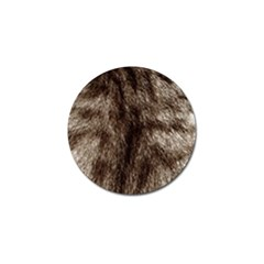 Black And White Silver Tiger Fur Golf Ball Marker (10 Pack) by timelessartoncanvas
