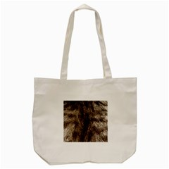 Black And White Silver Tiger Fur Tote Bag (cream) by timelessartoncanvas