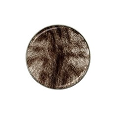 Black And White Silver Tiger Fur Hat Clip Ball Marker (10 Pack) by timelessartoncanvas