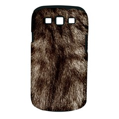 Black And White Silver Tiger Fur Samsung Galaxy S Iii Classic Hardshell Case (pc+silicone) by timelessartoncanvas