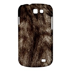 Black and White Silver Tiger Fur Samsung Galaxy Express I8730 Hardshell Case  by timelessartoncanvas