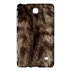 Black and White Silver Tiger Fur Samsung Galaxy Tab 4 (8 ) Hardshell Case  by timelessartoncanvas