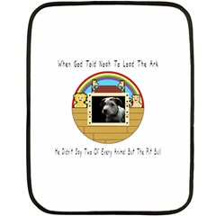 But The Pit Bull Fleece Blanket (mini) by ButThePitBull