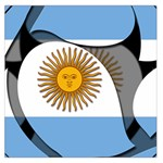 Argentina Large Satin Scarf (Square)