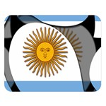 Argentina Double Sided Flano Blanket (Large)
