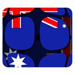 Australia Double Sided Flano Blanket (Small)