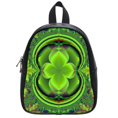 Green Clover School Bags (small)  by Delasel