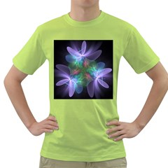 Ethereal Flowers Green T Shirt by Delasel