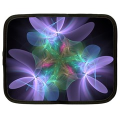 Ethereal Flowers Netbook Case (Large) by Delasel