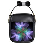 Ethereal Flowers Girls Sling Bags Front