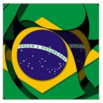 Brazil Large Satin Scarf (Square)