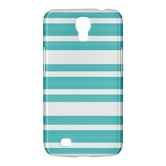 Teal Adn White Stripe Designs Samsung Galaxy Mega 6 3  I9200 Hardshell Case by timelessartoncanvas