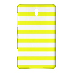 Bright Yellow And White Stripes Samsung Galaxy Tab S (8 4 ) Hardshell Case  by timelessartoncanvas