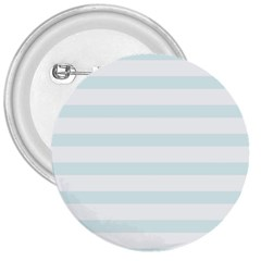 Baby Blue And White Stripes 3  Buttons by timelessartoncanvas