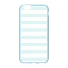Baby Blue and White Stripes Apple Seamless iPhone 6/6S Case (Color) by timelessartoncanvas