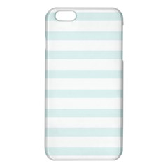 Baby Blue And White Stripes Iphone 6 Plus/6s Plus Tpu Case by timelessartoncanvas