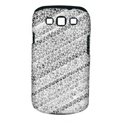 Silver Abstract And Stripes Samsung Galaxy S Iii Classic Hardshell Case (pc+silicone) by timelessartoncanvas