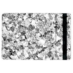 Silver Abstract Design Ipad Air 2 Flip by timelessartoncanvas