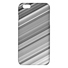 Elegant Silver Metallic Stripe Design Iphone 6 Plus/6s Plus Tpu Case by timelessartoncanvas