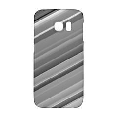 Elegant Silver Metallic Stripe Design Galaxy S6 Edge by timelessartoncanvas