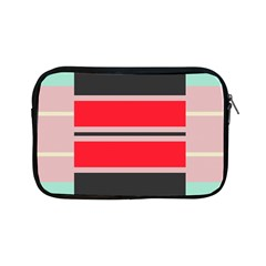 Rectangles In Retro Colors  			apple Ipad Mini Zipper Case by LalyLauraFLM