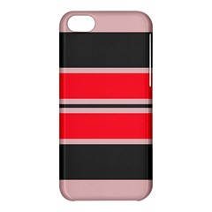 Rectangles In Retro Colors  			apple Iphone 5c Hardshell Case by LalyLauraFLM