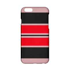 Rectangles In Retro Colors  apple Iphone 6/6s Hardshell Case by LalyLauraFLM