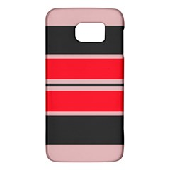 Rectangles In Retro Colors  			samsung Galaxy S6 Hardshell Case by LalyLauraFLM