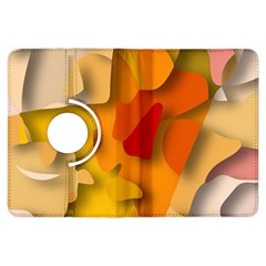 Red Spot Kindle Fire Hdx Flip 360 Case by hennigdesign