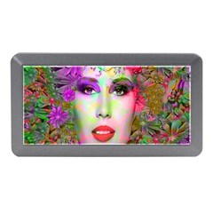 Flowers In Your Hair Memory Card Reader (mini) by icarusismartdesigns