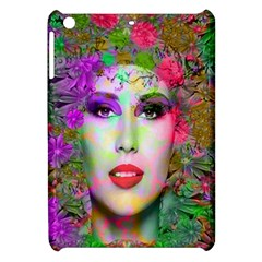 Flowers In Your Hair Apple Ipad Mini Hardshell Case by icarusismartdesigns