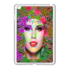 Flowers In Your Hair Apple Ipad Mini Case (white) by icarusismartdesigns