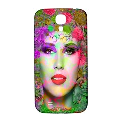 Flowers In Your Hair Samsung Galaxy S4 I9500/i9505  Hardshell Back Case by icarusismartdesigns