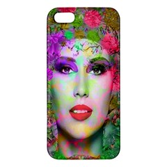 Flowers In Your Hair Iphone 5s Premium Hardshell Case by icarusismartdesigns