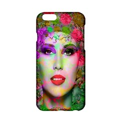 Flowers In Your Hair Apple Iphone 6/6s Hardshell Case by icarusismartdesigns