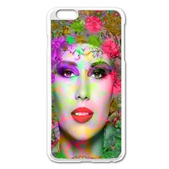 Flowers In Your Hair Apple Iphone 6 Plus/6s Plus Enamel White Case by icarusismartdesigns